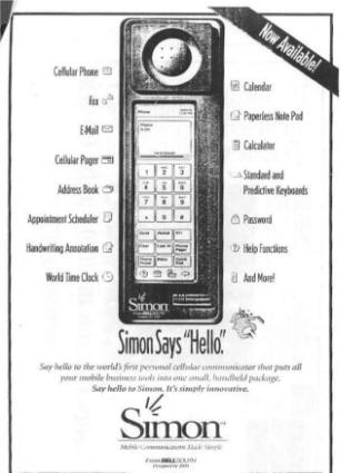 IBM Simon 1994