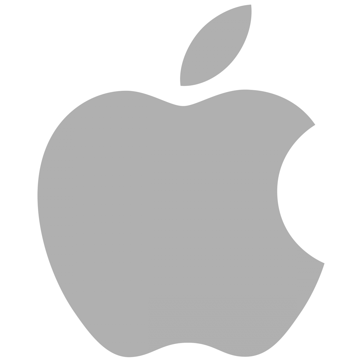 Apple-Logo-Grau