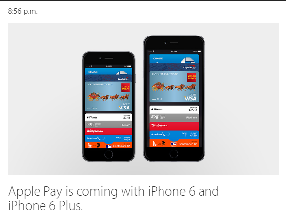 Apple Pay disponibl doar pe iPhone 6 si iPhone 6 Plus