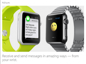 Apple Watch Sms