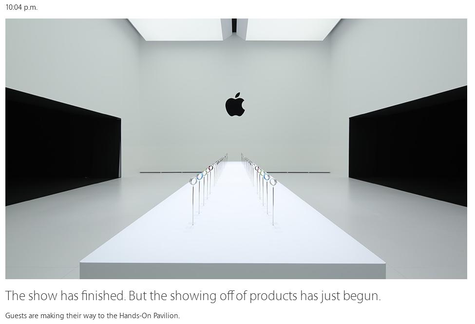 Camera de test pentru Apple Watch