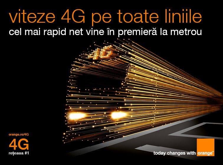 Orange 4G metrou