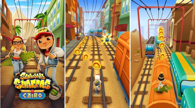 Subway Surfer Cairo