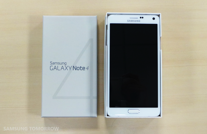 Unboxing Samsung Galaxy Note 4  (1)