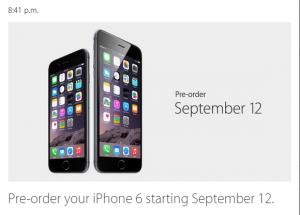 iPhone 6 disponibil pentru precomanda din 12 septembrie