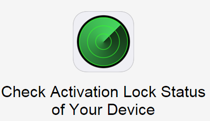 Activation Lock verificare mic