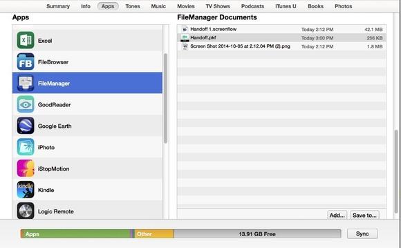 File Manager aplicatie