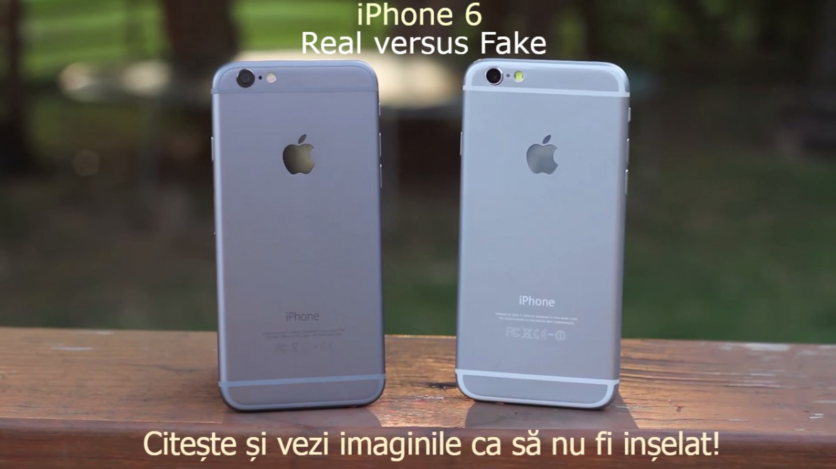 Diferente iPhone 6 fals vs real