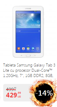 Samsung tab 3 promo