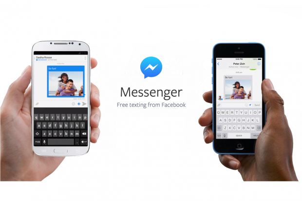 Facebook messenger transfer