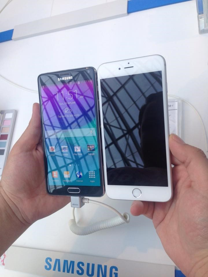 iPhone 6 Plus Vs Samsung Note 4  (2)