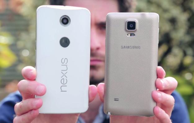 Nexus 6 versus Note 4