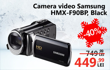 Cameră video Samsung  HMX-F90BP