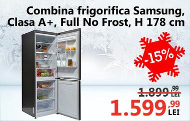Combină frigorifică Samsung RB29FERNDSA,