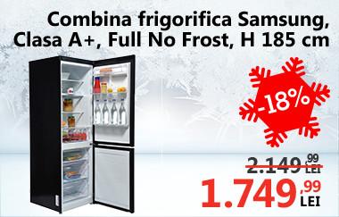 Combină frigorifică Samsung RB31FERNDB,