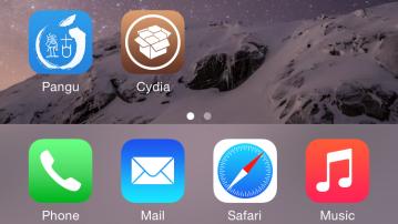 Pangu & Cydia instalate