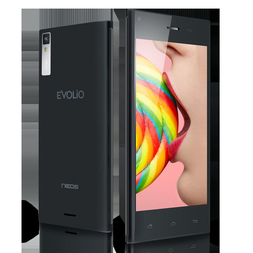 Smartphone-Evolio-Neos-DualSim-4.5inch-QuadCore-GPS-Android4.4
