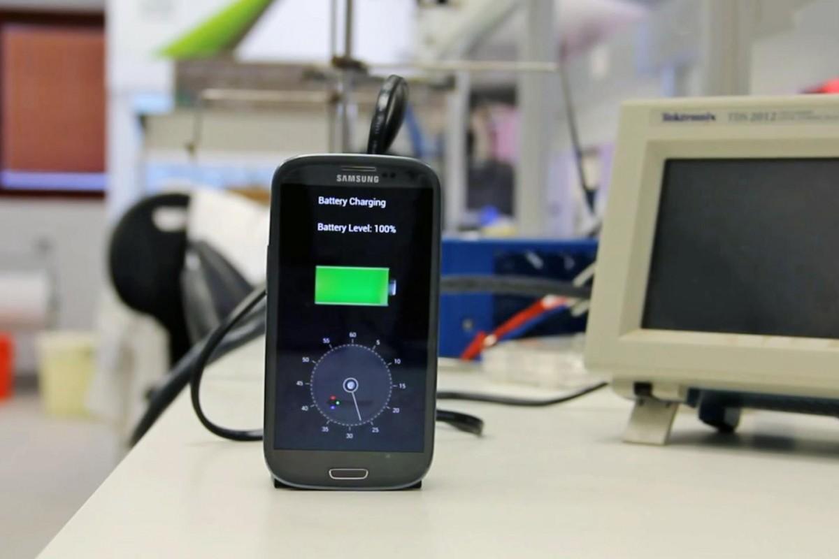baterie încărcat telefon 30 secunde
