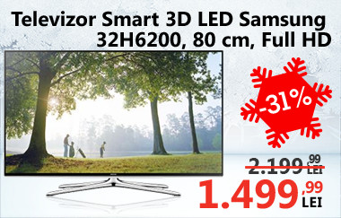 Televizor Smart 3D LED Samsung 32H6200