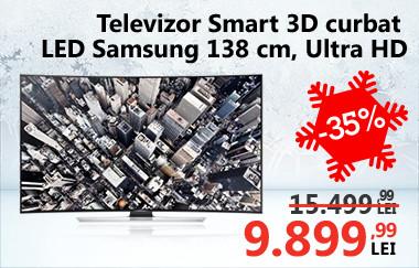 Televizor Smart 3D curbat LED Samsung 55HU8500