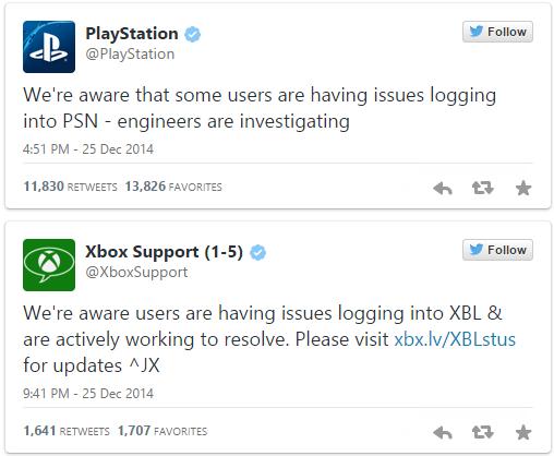 Microsoft si Sony au fost atacati de hackeri