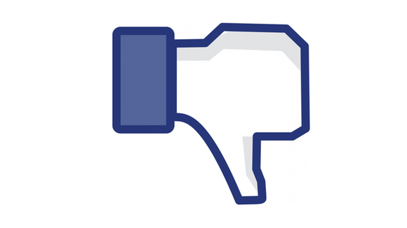 facebook button dislike