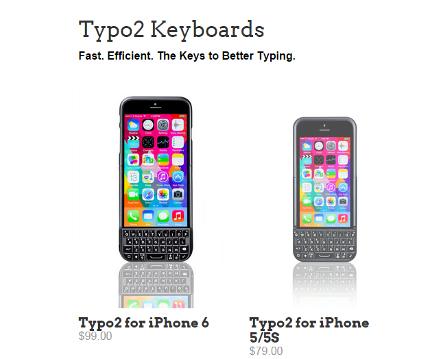 iphone typo keyboard