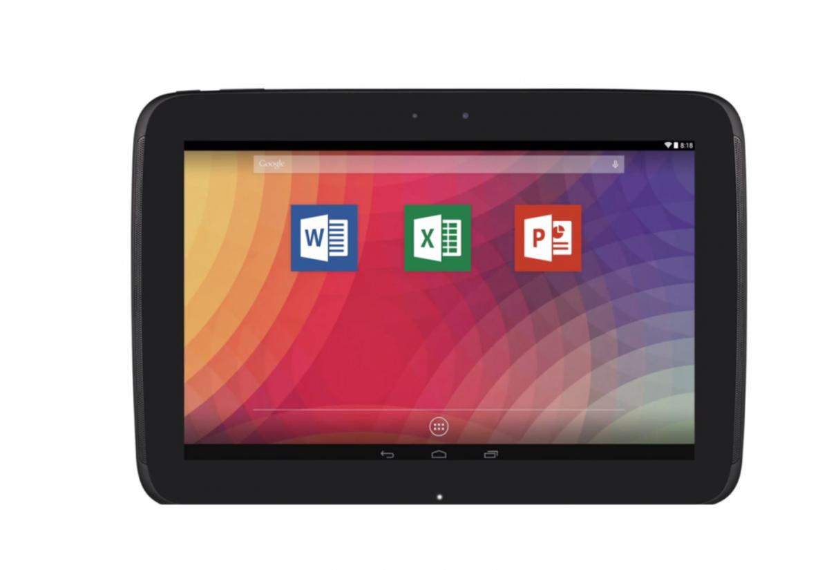 Microsfot Office pentru tablete cu Android