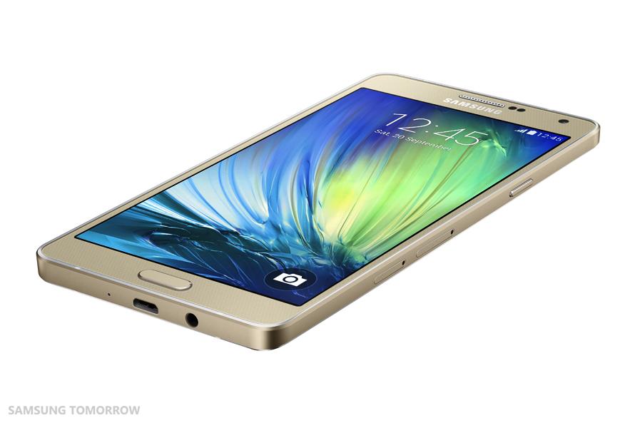 Samsung Galaxy A7 SM-A700F varianta aurie