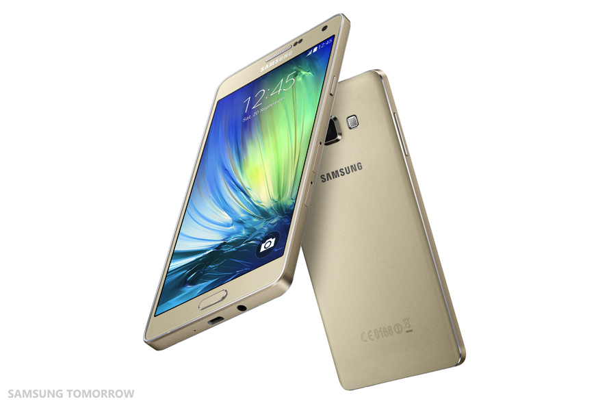 Samsung Galaxy A7 SM-A700F Gold