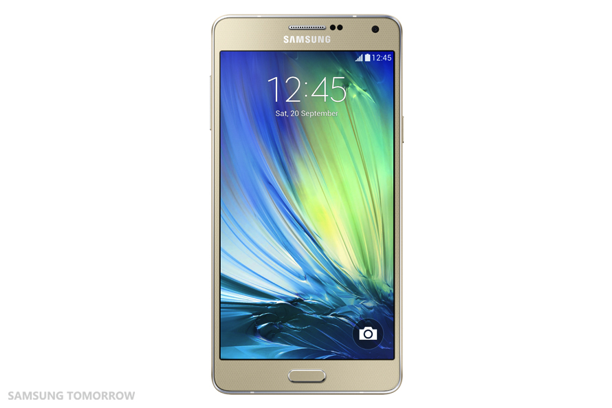 Samsung Galaxy A7 SM-A700F (2) Auriu