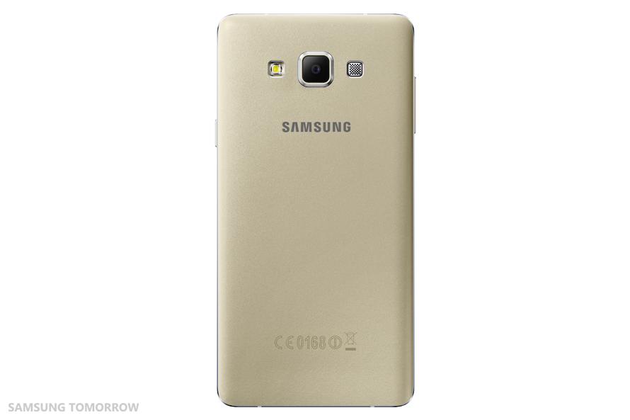 Samsung Galaxy A7 SM-A700F auriu spate
