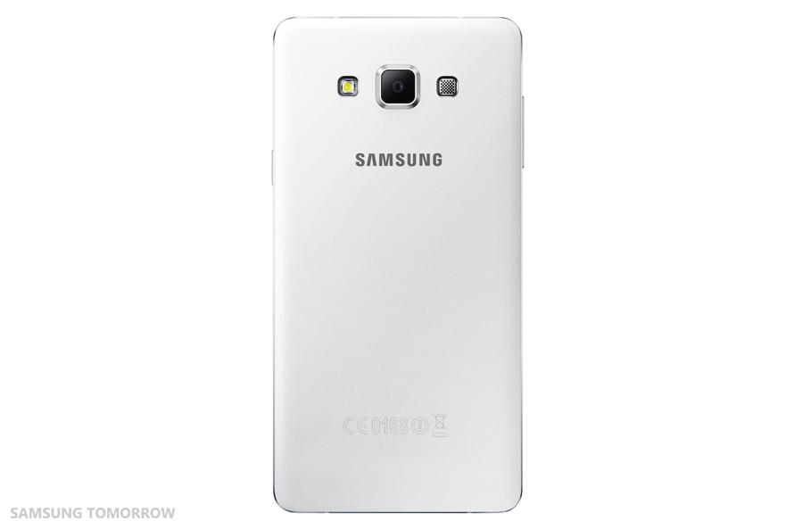 Samsung Galaxy A7 SM-A700F alb spate
