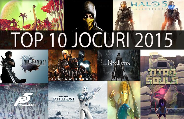 top 10 jocuri 2015