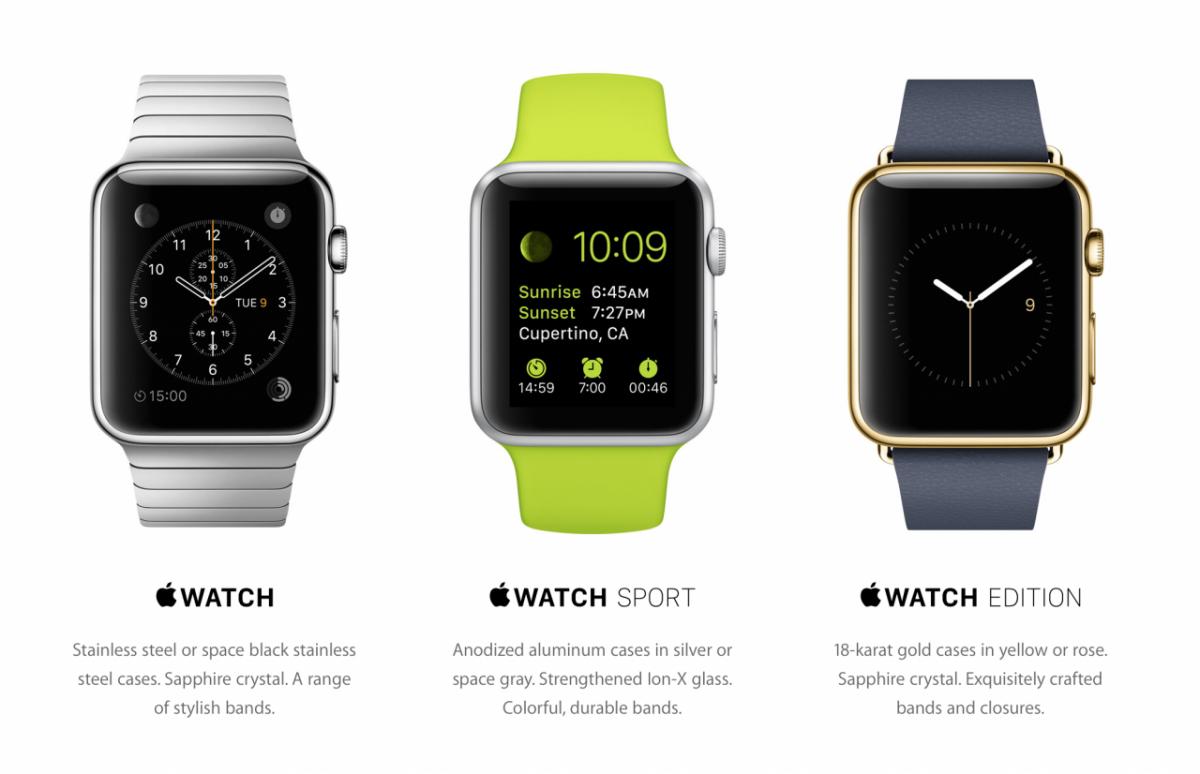 Preturile fiecarui model de apple watch