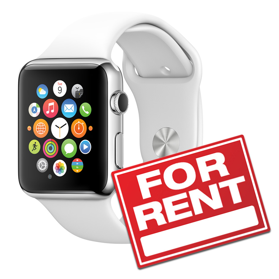 apple watch for rent