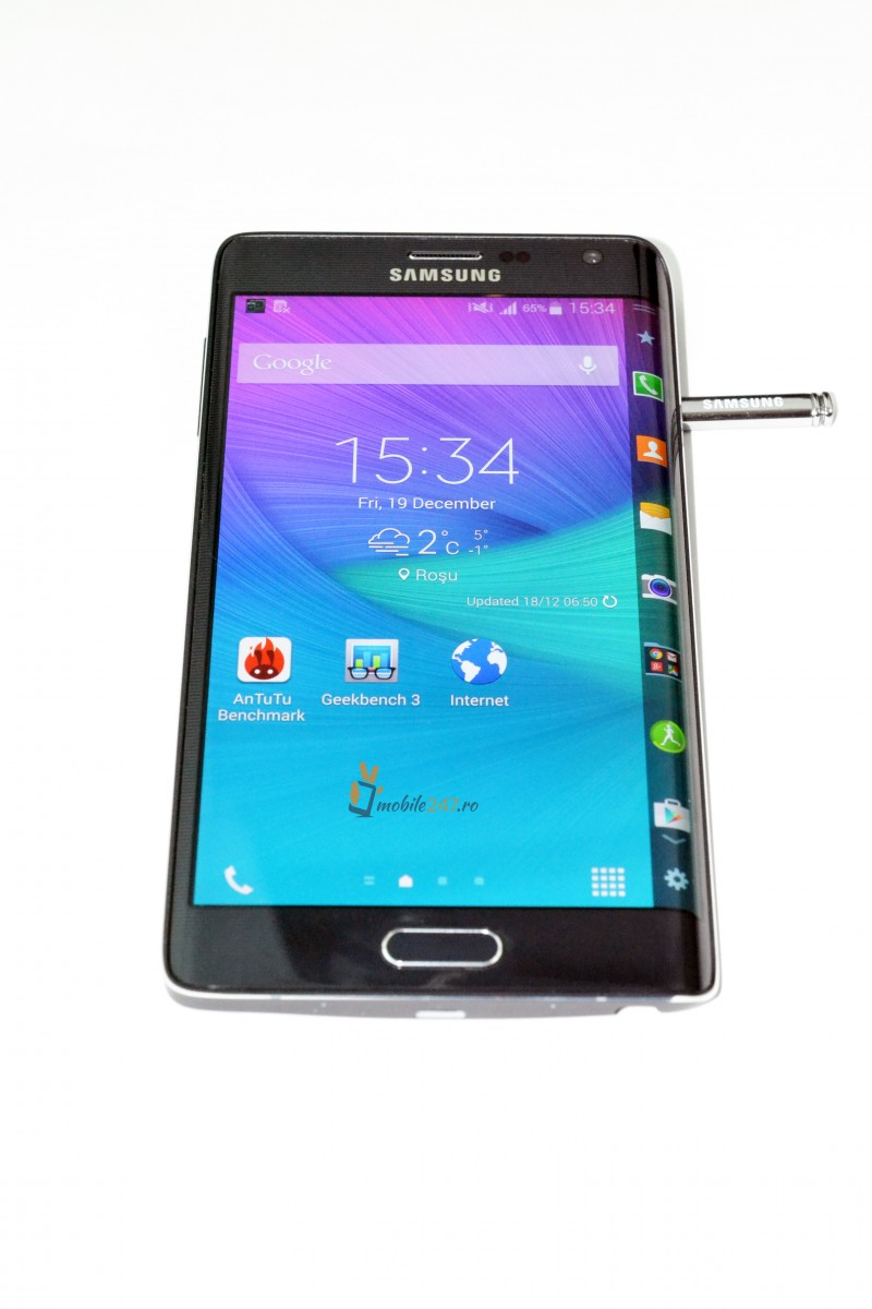 Review la Samsung Galaxy Note Edge