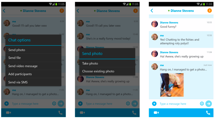 Skype Android 5.2