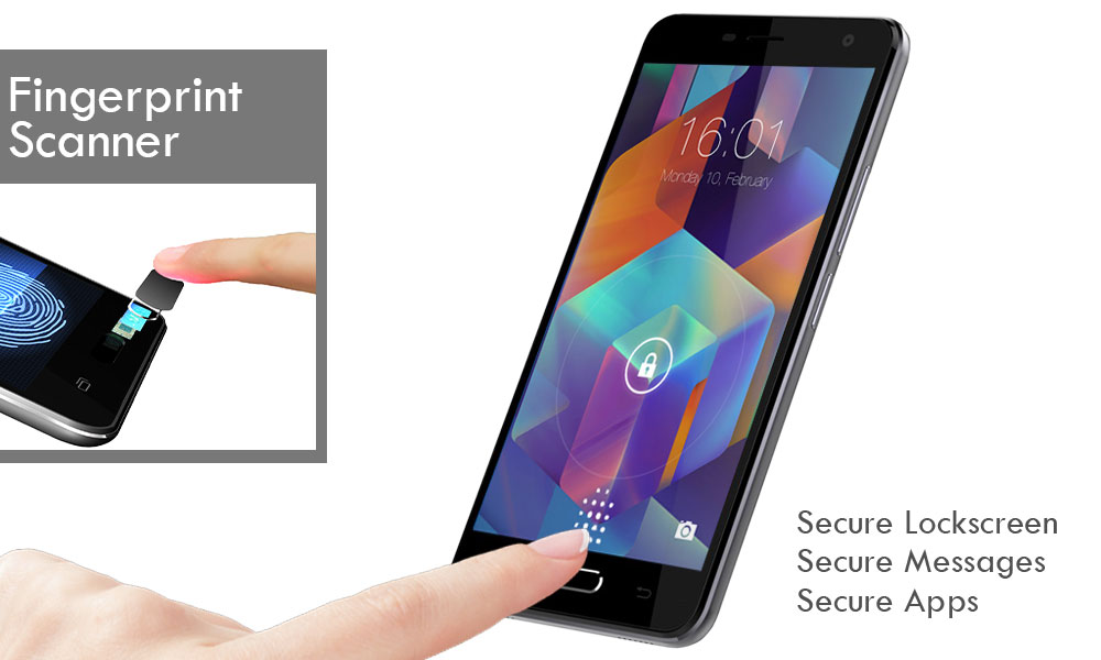 wammy titan 4 - fingerprint scanner