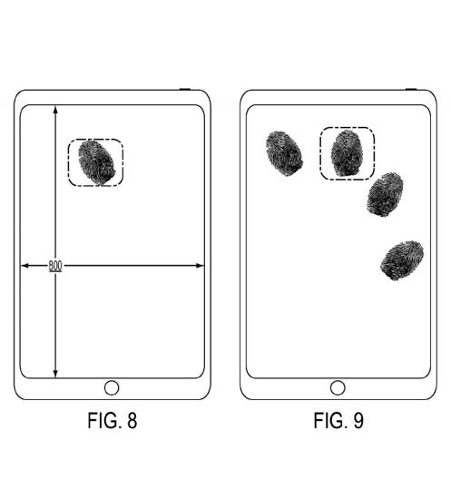 brevet de inventie touch id