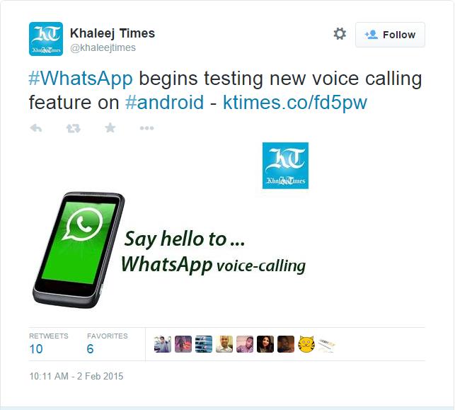 whatsapp are o noua functie - apeluri telefonice