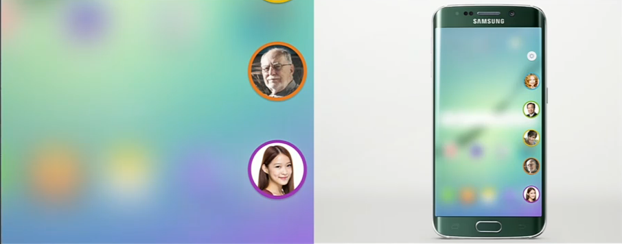 Agenda telefonica a lui Samsung Galaxy S6