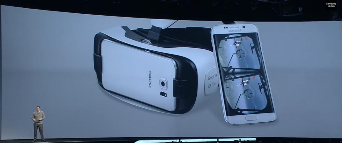 Gear VR, Samsung Galaxy S6 Edge
