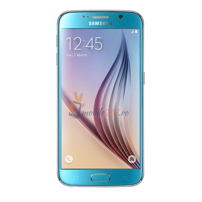 Samsung Galaxy S6 albastru