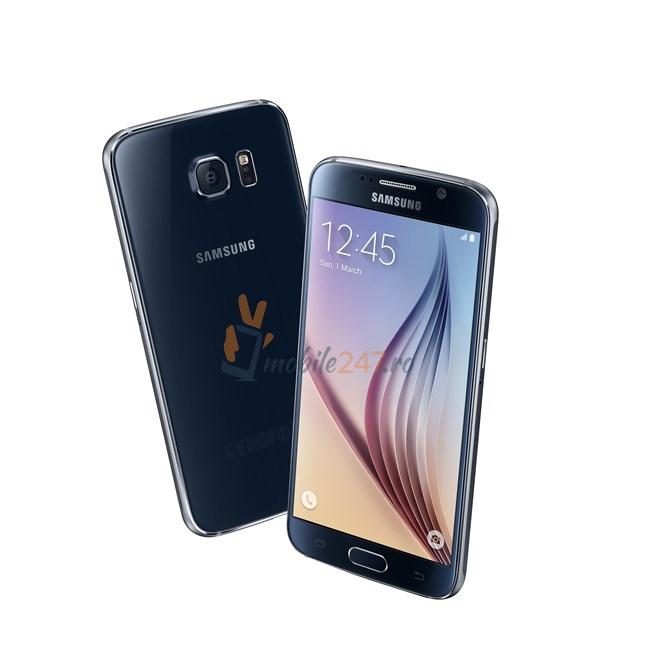 Samsung Galaxy S6 poze din fata si lateral