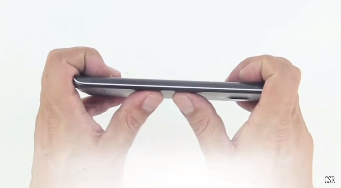 Testul suprem pentru Samsung S6 de indoire