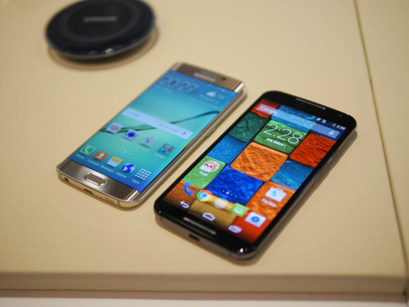 Samsung S6 si Samsung Galaxy edge Display super amoled