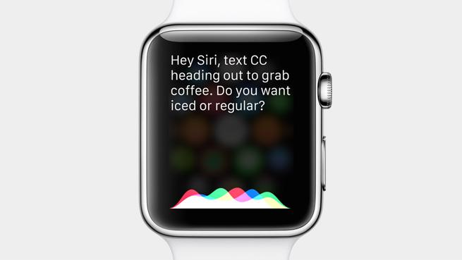 Siri pe Apple Watch