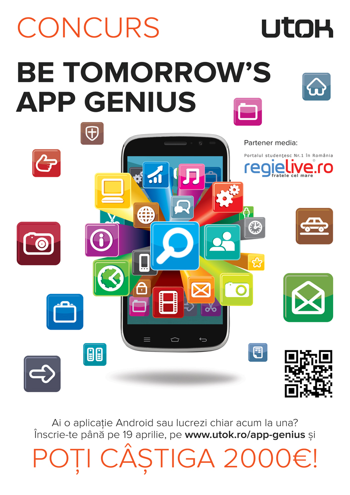 """UTOK """"Be tomorrows app genius"""""""
