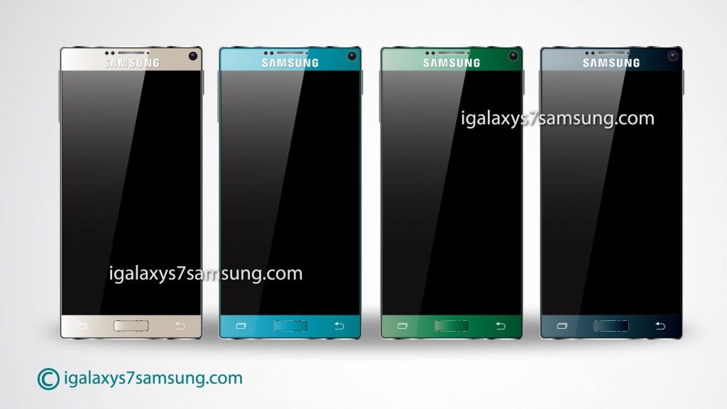 culori samsung galaxy s7 concept